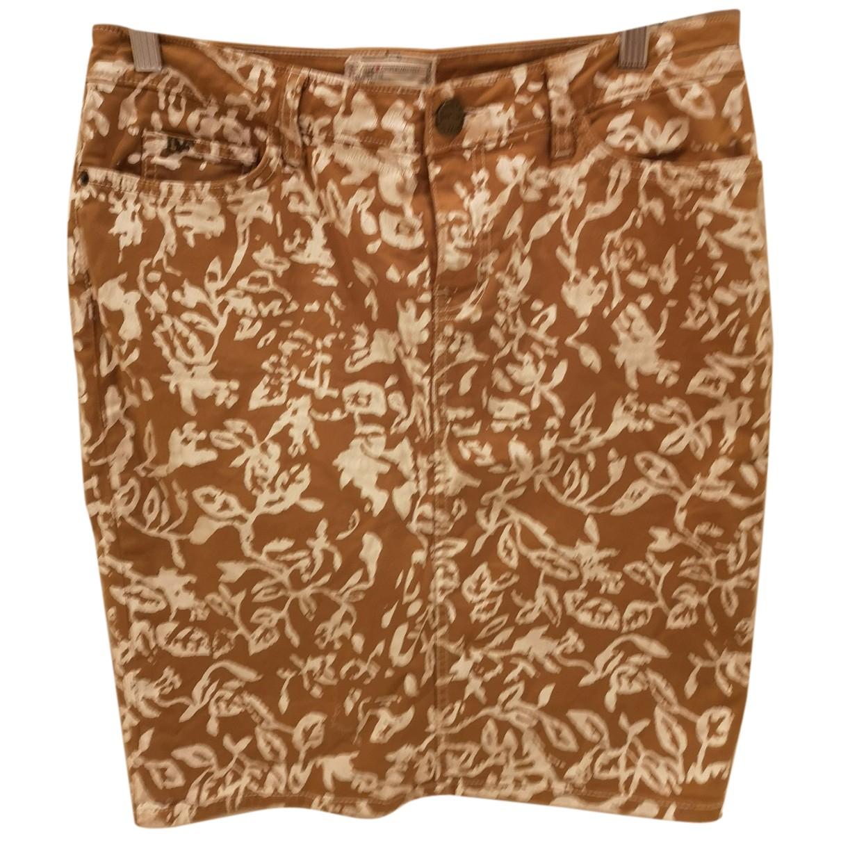 Current Elliott N Camel Denim - Jeans skirt for Women 12 UK