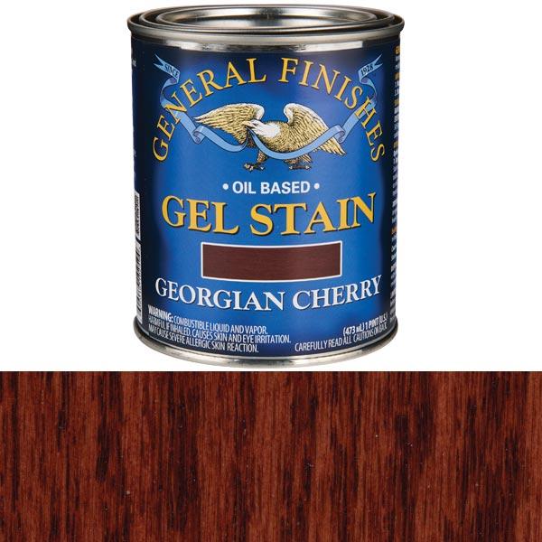 Georgian Cherry Gel Stain Solvent Based Pint