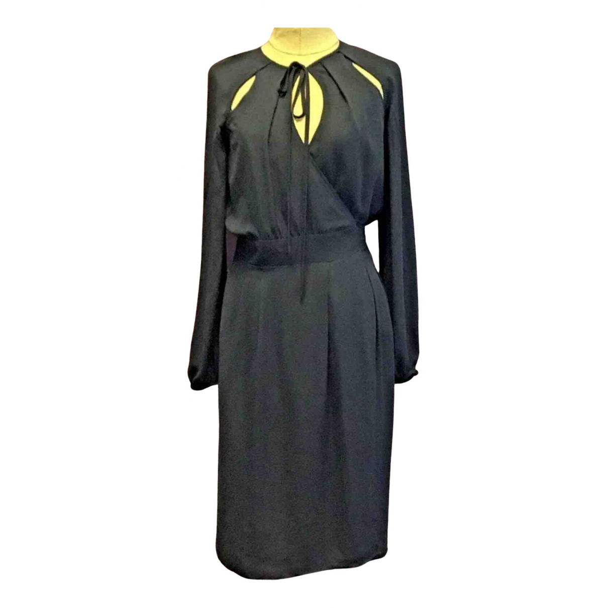 Ossie Clark N Black dress for Women 8 UK