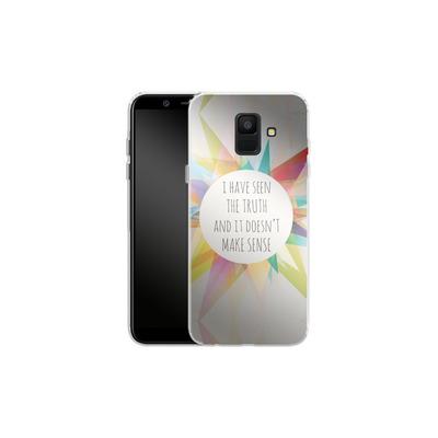 Samsung Galaxy A6 Silikon Handyhuelle - Truth von Mareike Bohmer
