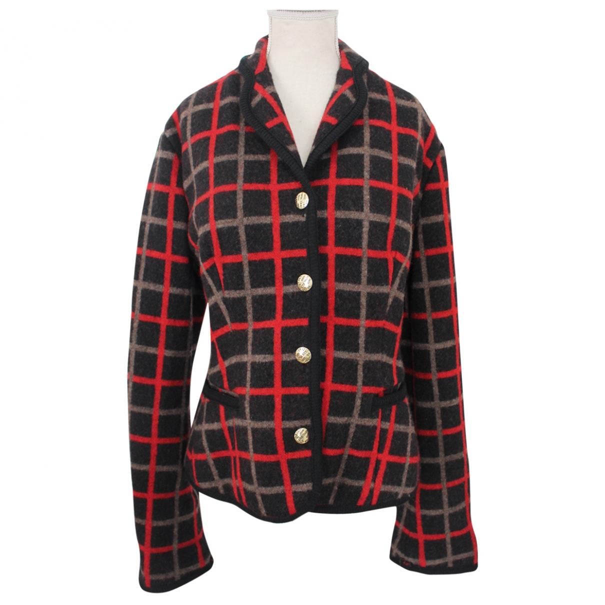 Nina Ricci - Veste   pour femme en laine - multicolore