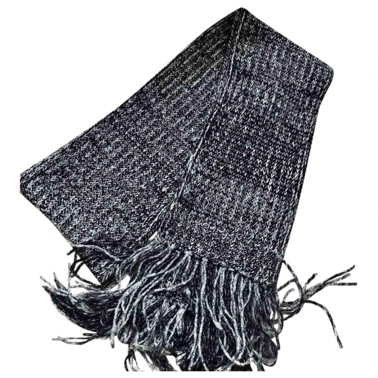 Chanel \N Schal in  Grau Kaschmir