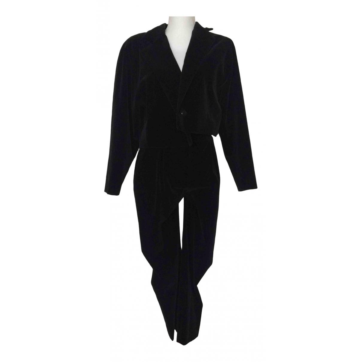 Dior \N Black Velvet jacket for Women 42 IT