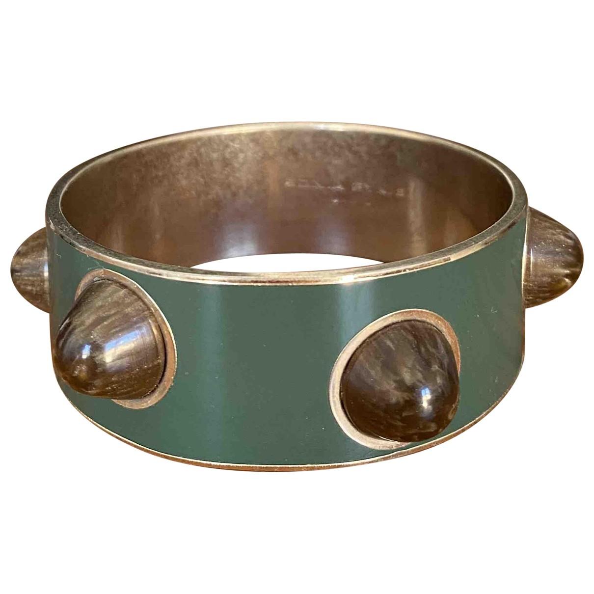 Sonia Rykiel \N Armband in  Khaki Metall
