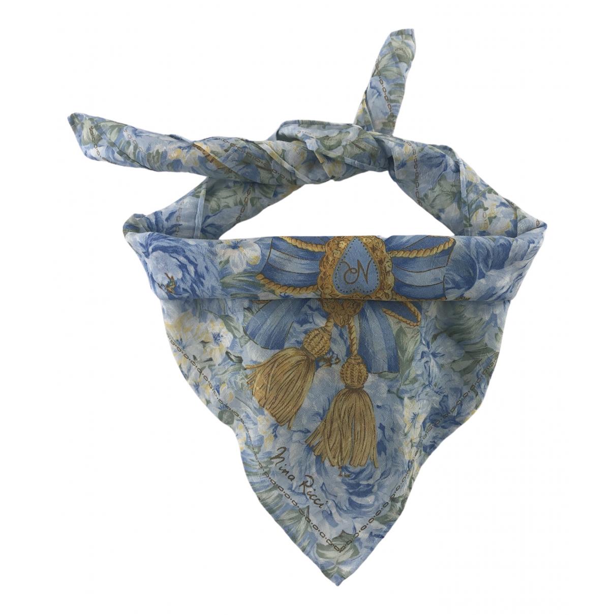Nina Ricci N Multicolour Cotton Silk handkerchief for Women N