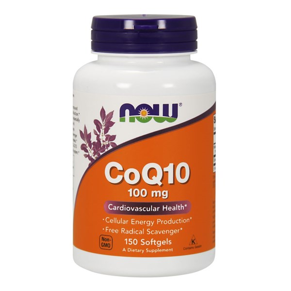 CoQ10 150 Sgels by Now Foods