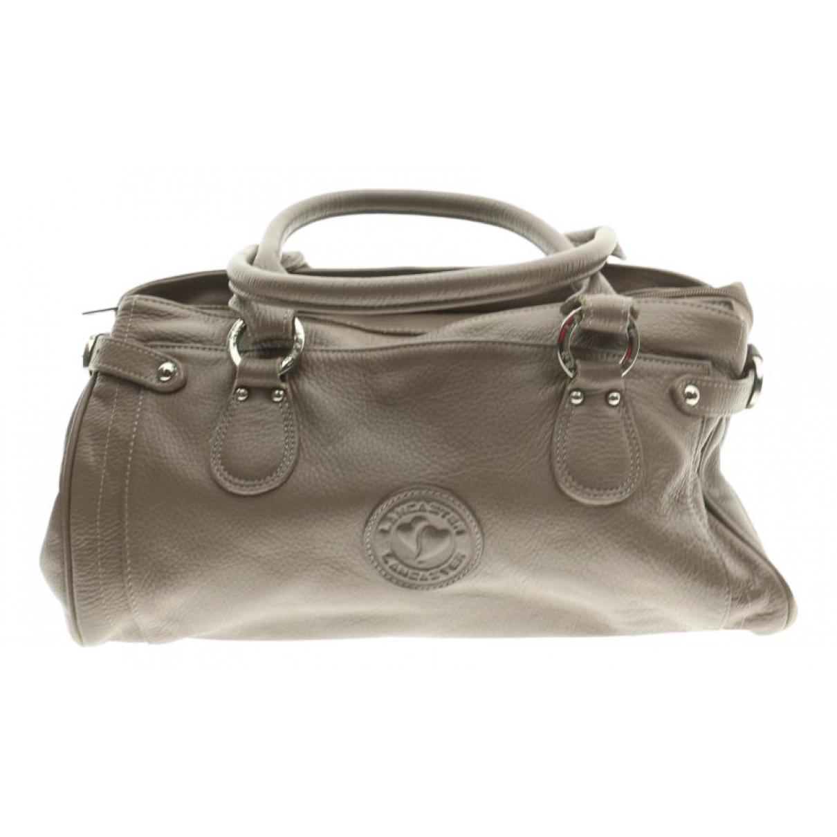 Lancaster \N Handtasche in  Grau Fell