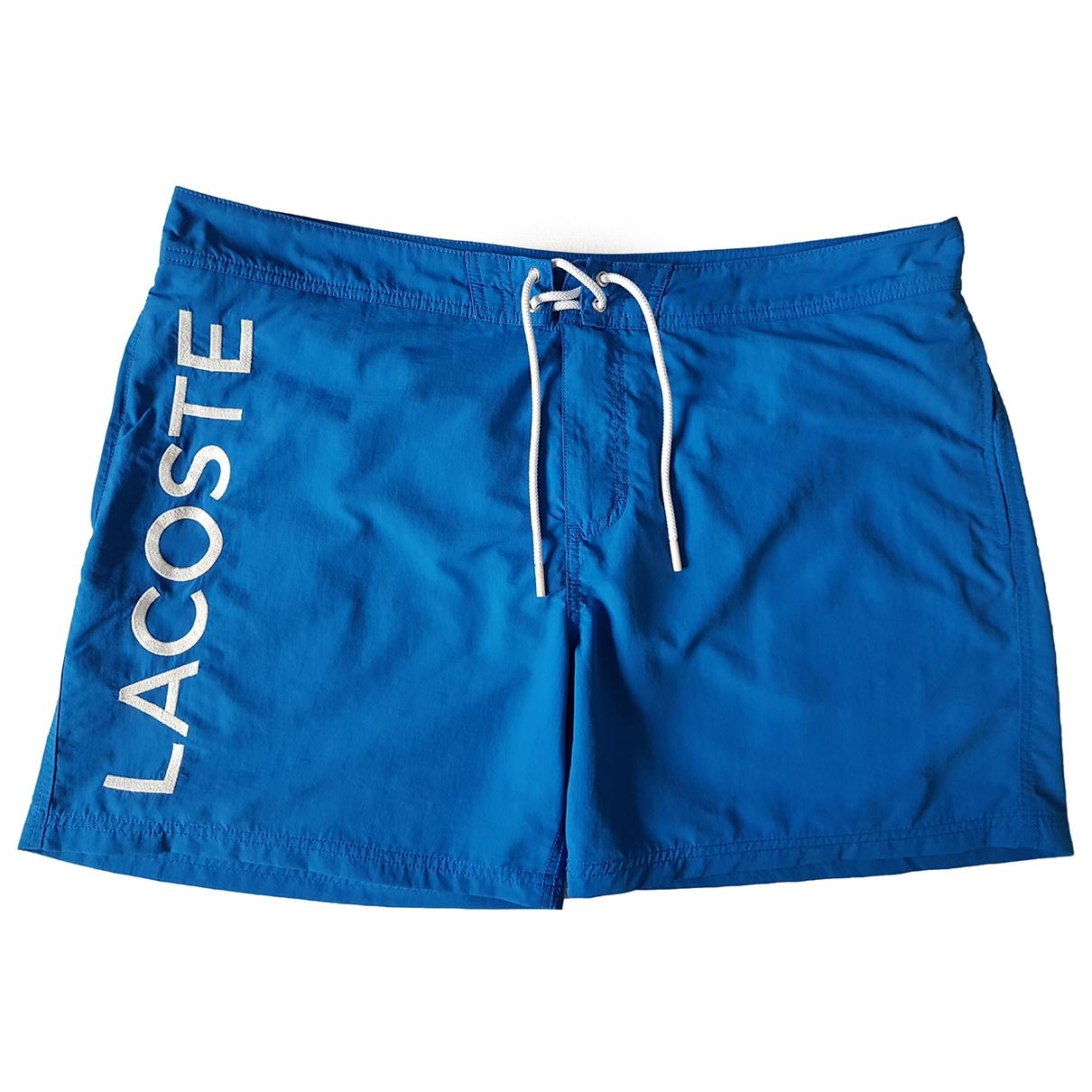 Lacoste \N Badeanzug in  Blau Polyester