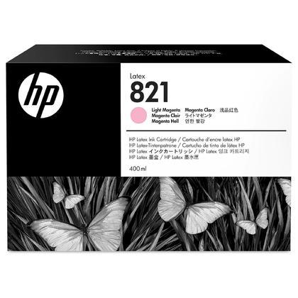 HP 821 G0Y91A cartouche dencre magenta clair Latex originale 400ml