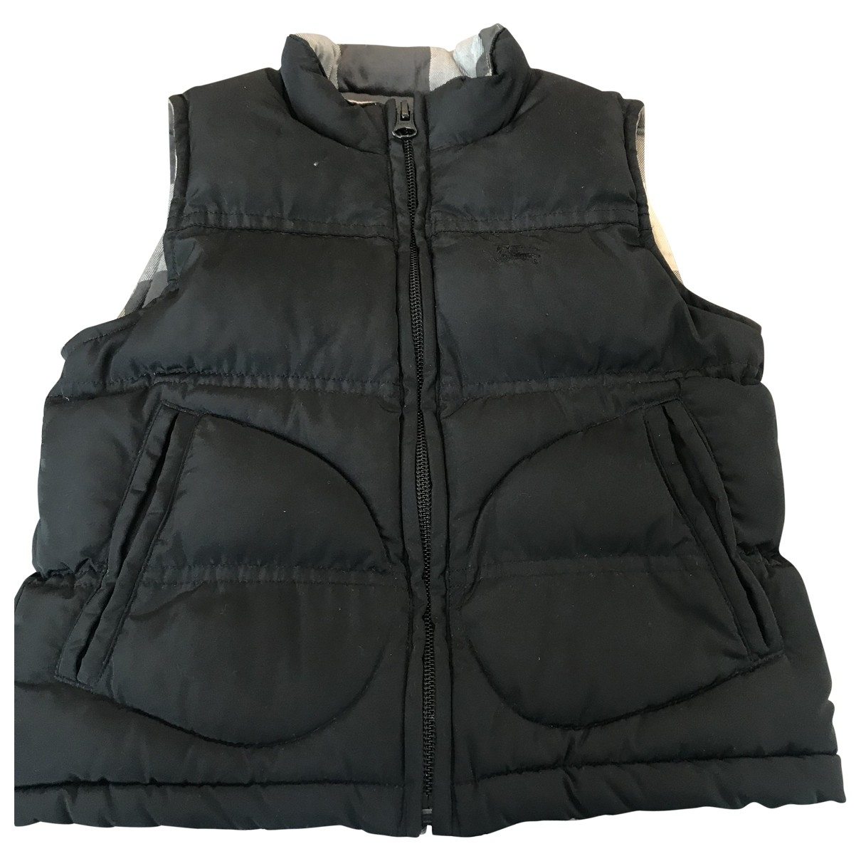 Burberry - Blousons.Manteaux   pour enfant - noir