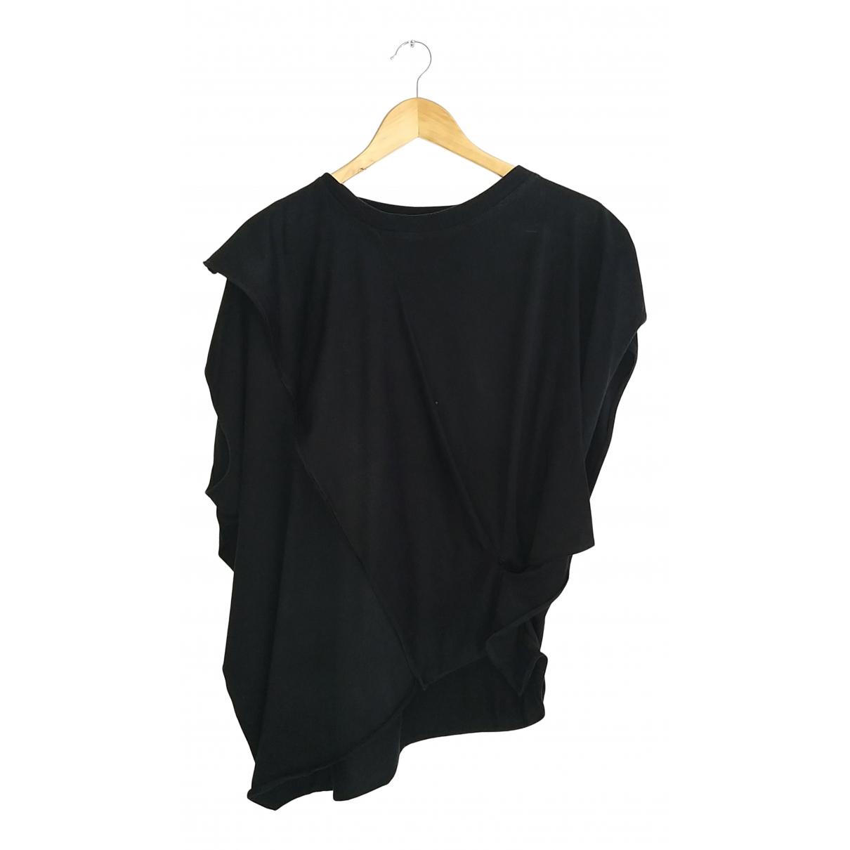 Maison Martin Margiela - Top   pour femme en coton - noir