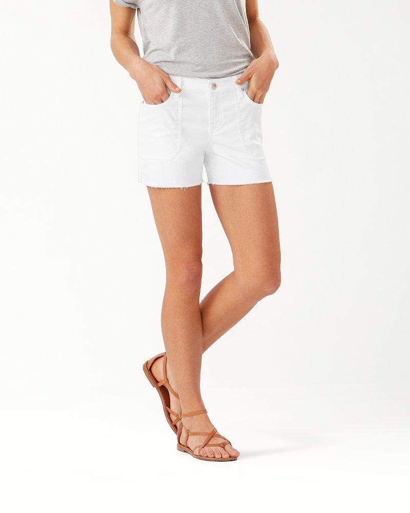 Ella Twill 4-Inch Utility Shorts
