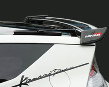Kansai KAH007 Carbon Fiber Rear Rear Wing Honda CR-Z 11-12
