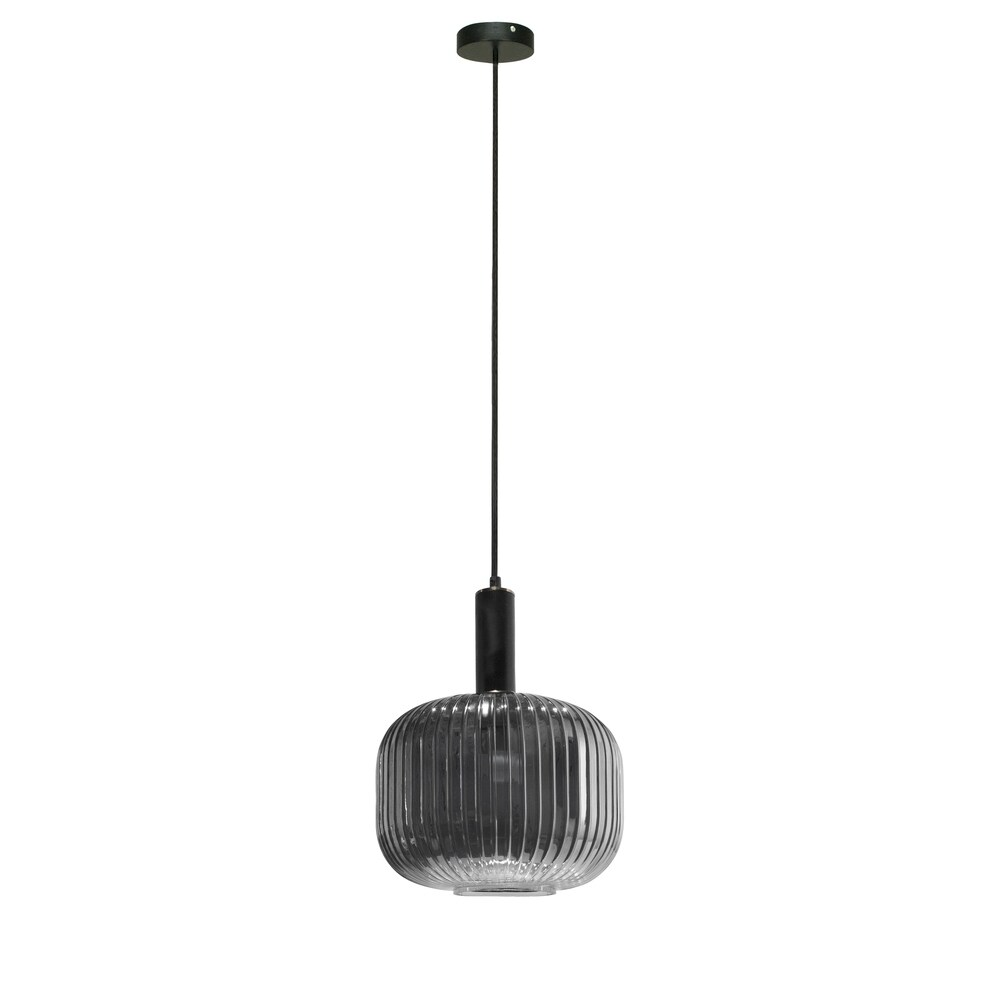 Langley Contemporary Pendant Light Fixture Elegant Ceiling Fixture Dimmable Option (Green)