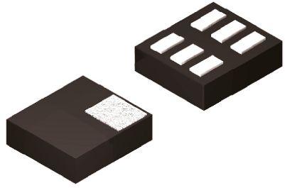 ON Semiconductor NCP4587DMX33TCG, LDO Regulator, 150mA, 3.3 V, ±1% 6-Pin, XDFN (5)