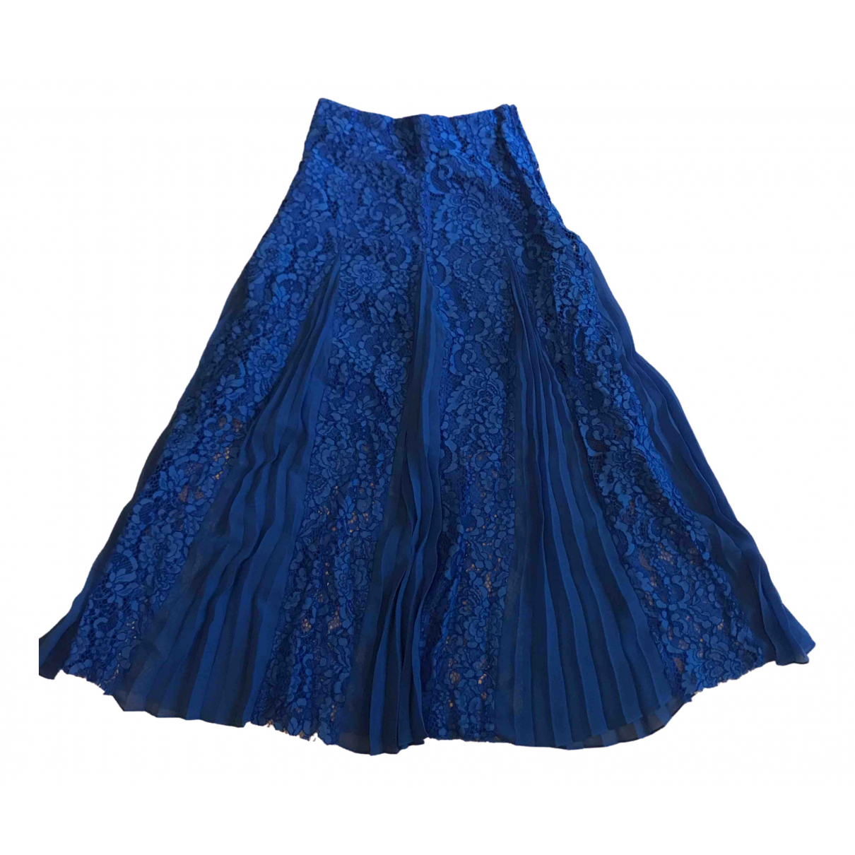Sandro \N Blue skirt for Women 36 FR