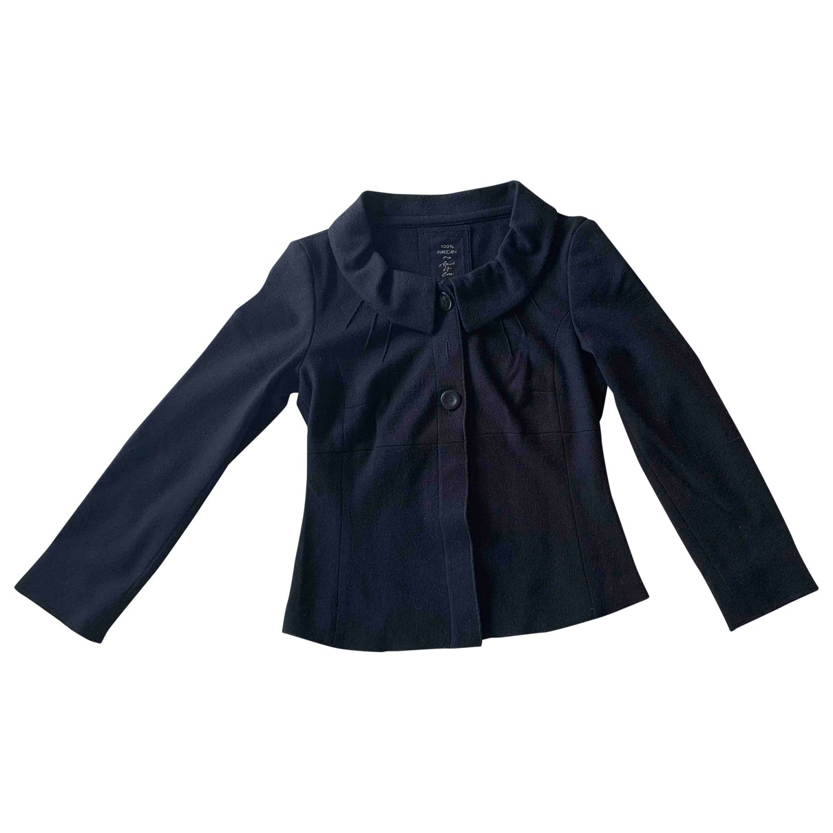 Marc Cain \N Black Wool jacket for Women 38 FR