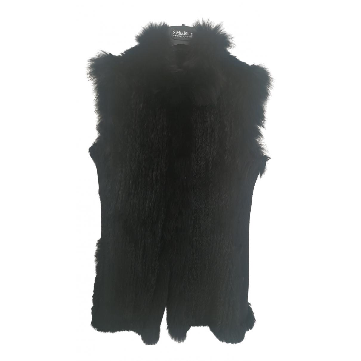 Pinko N Black Wool coat for Women 40 IT
