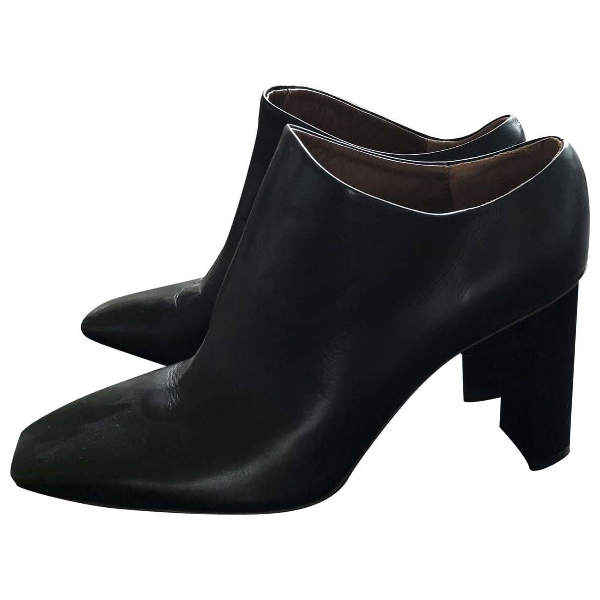 Alyx - Bottes   pour femme en cuir - noir