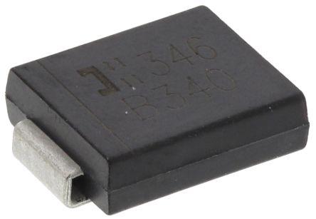 DiodesZetex Diodes Inc 40V 3A, Schottky Diode, 2-Pin DO-214AB B340-13-F (25)