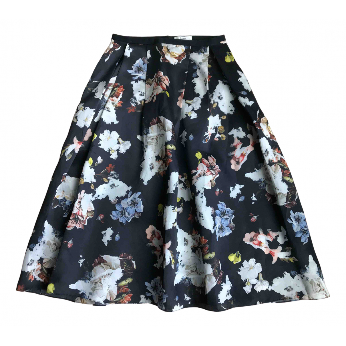 Erdem \N Black Silk skirt for Women 10 UK