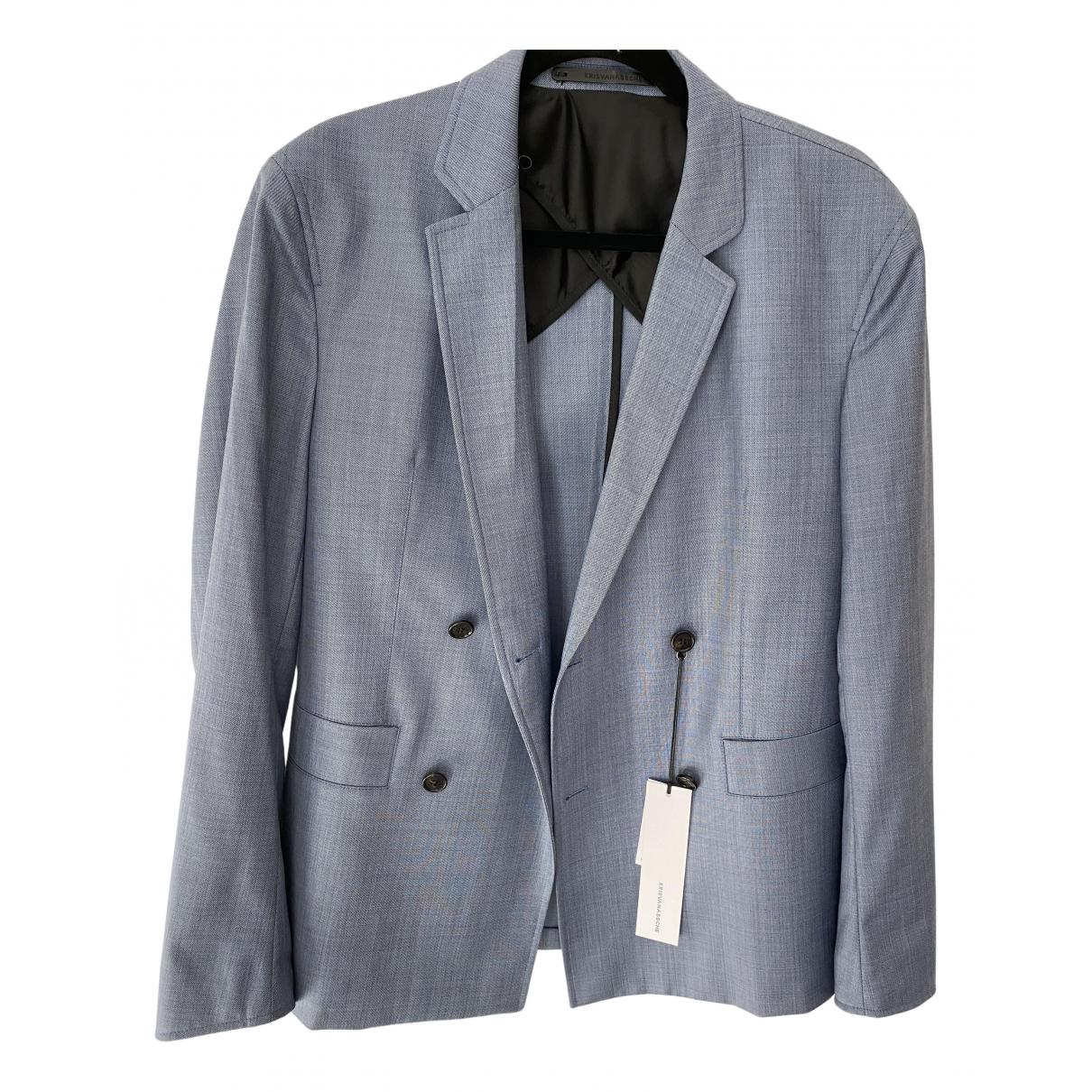 Kris Van Assche - Costumes   pour homme en laine - bleu