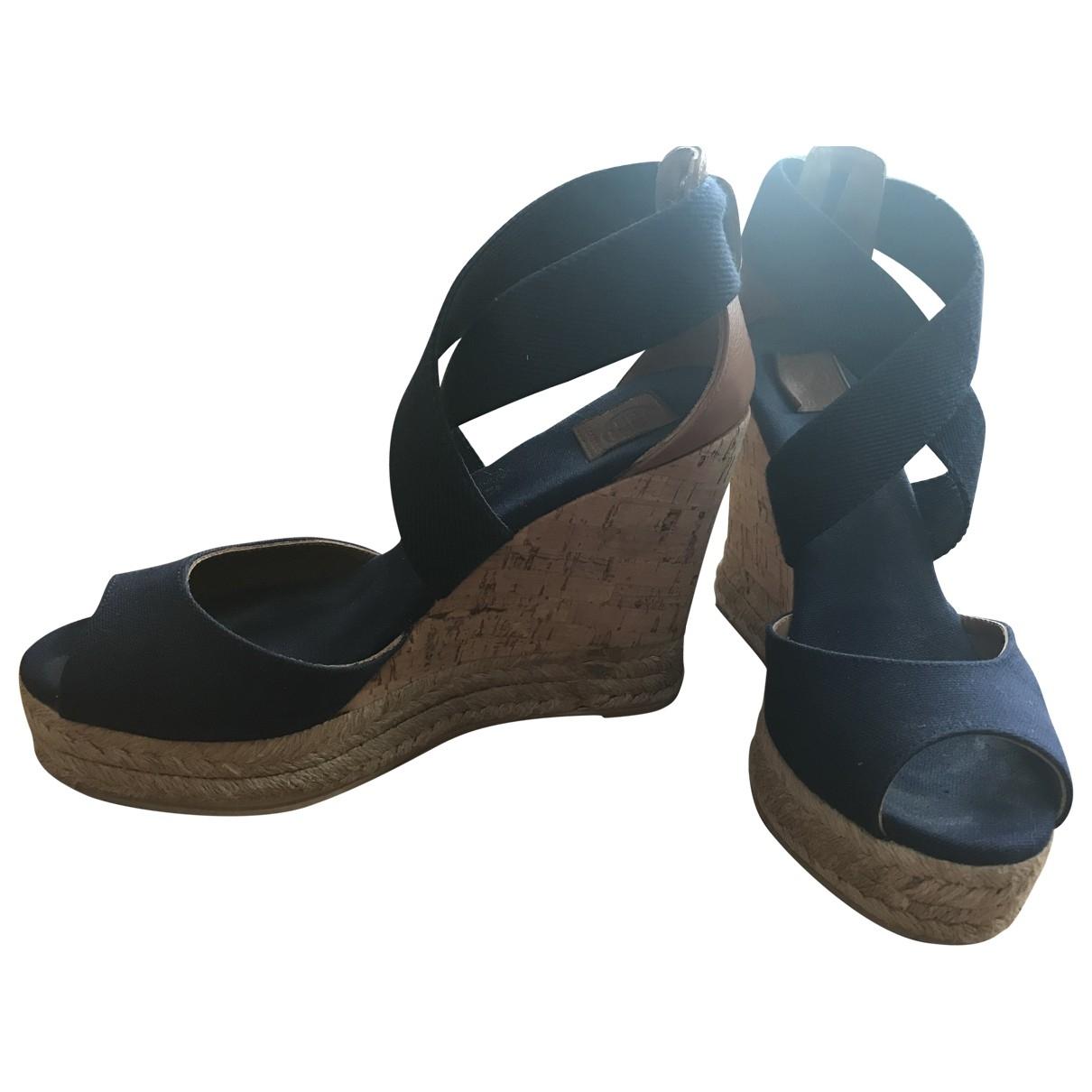 Tory Burch \N Blue Cloth Sandals for Women 6US