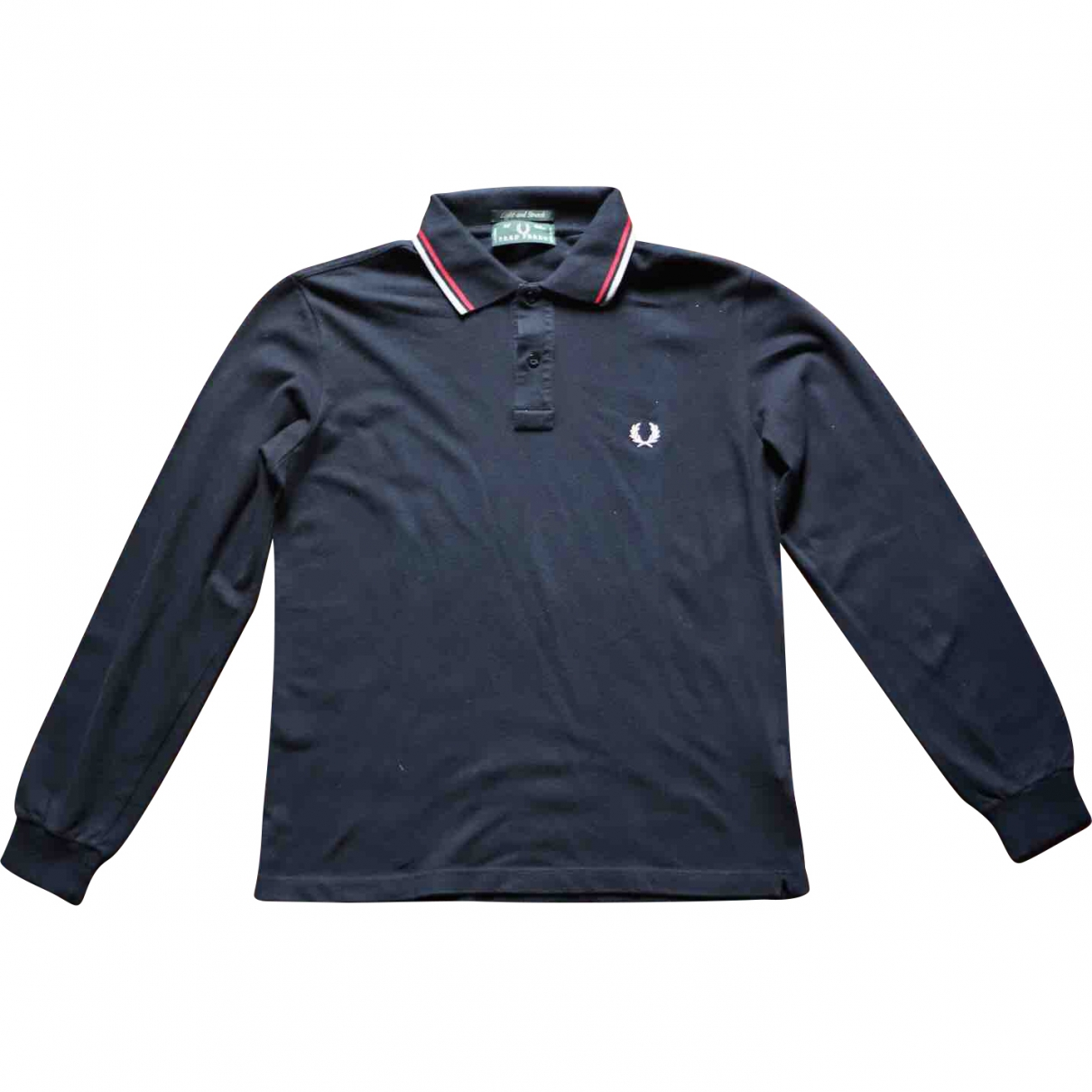 Polo en Algodon Negro Fred Perry