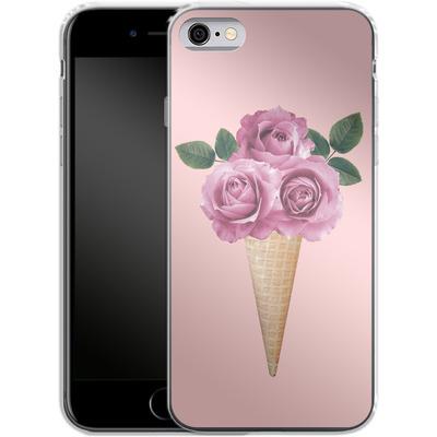 Apple iPhone 6s Silikon Handyhuelle - Ice-cream 3 von Emanuela Carratoni