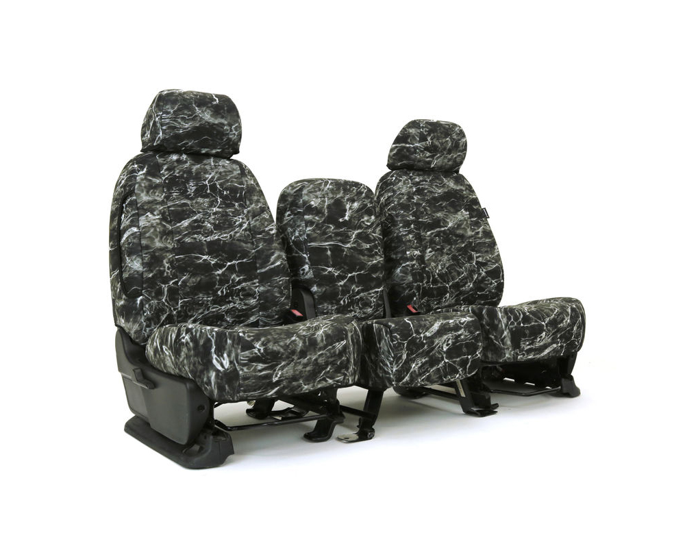 Coverking CSCMO26KI9502 Skanda Custom Seat Covers 1 Row Neosupreme Mossy Oak Elements Blacktip Solid Front Kia Sorento 2016-2021