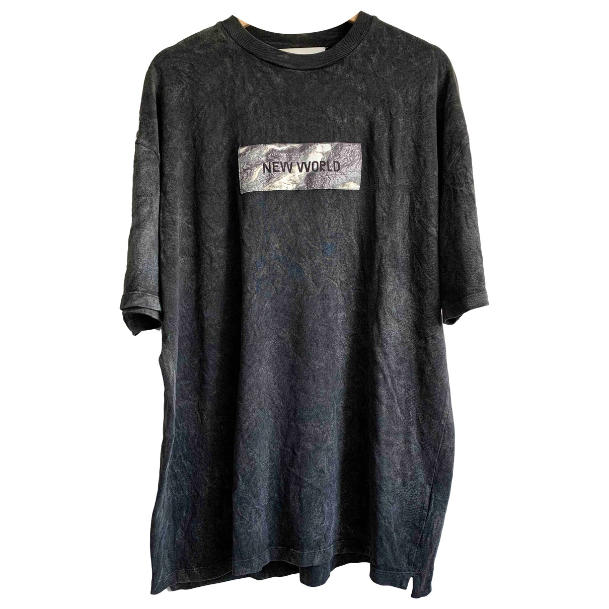 Filling Pieces \N Anthracite Cotton T-shirts for Men L International