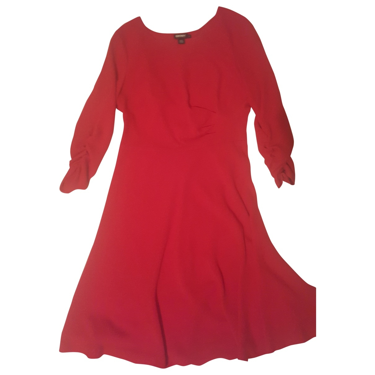 Dkny - Robe   pour femme - rouge
