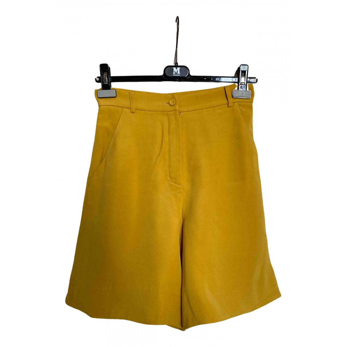 Fendi \N Shorts in  Beige Synthetik