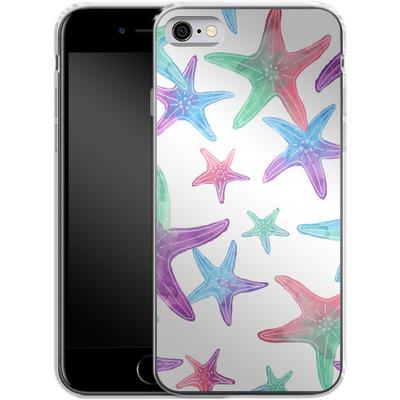 Apple iPhone 6s Silikon Handyhuelle - Starfish Print von Becky Starsmore