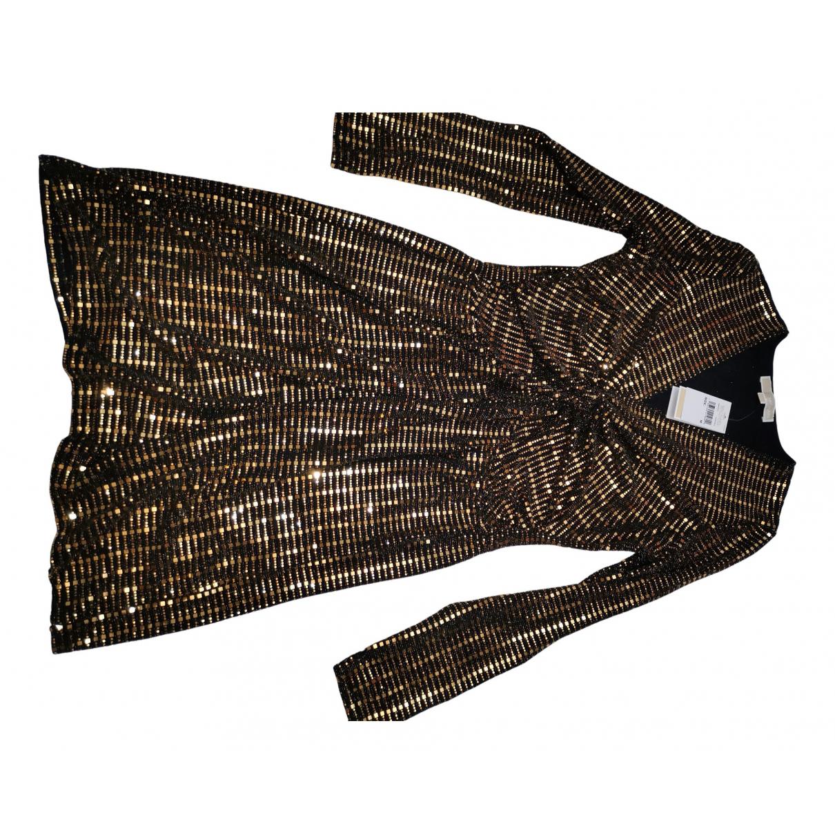Michael Kors \N Kleid in  Gold Mit Pailletten