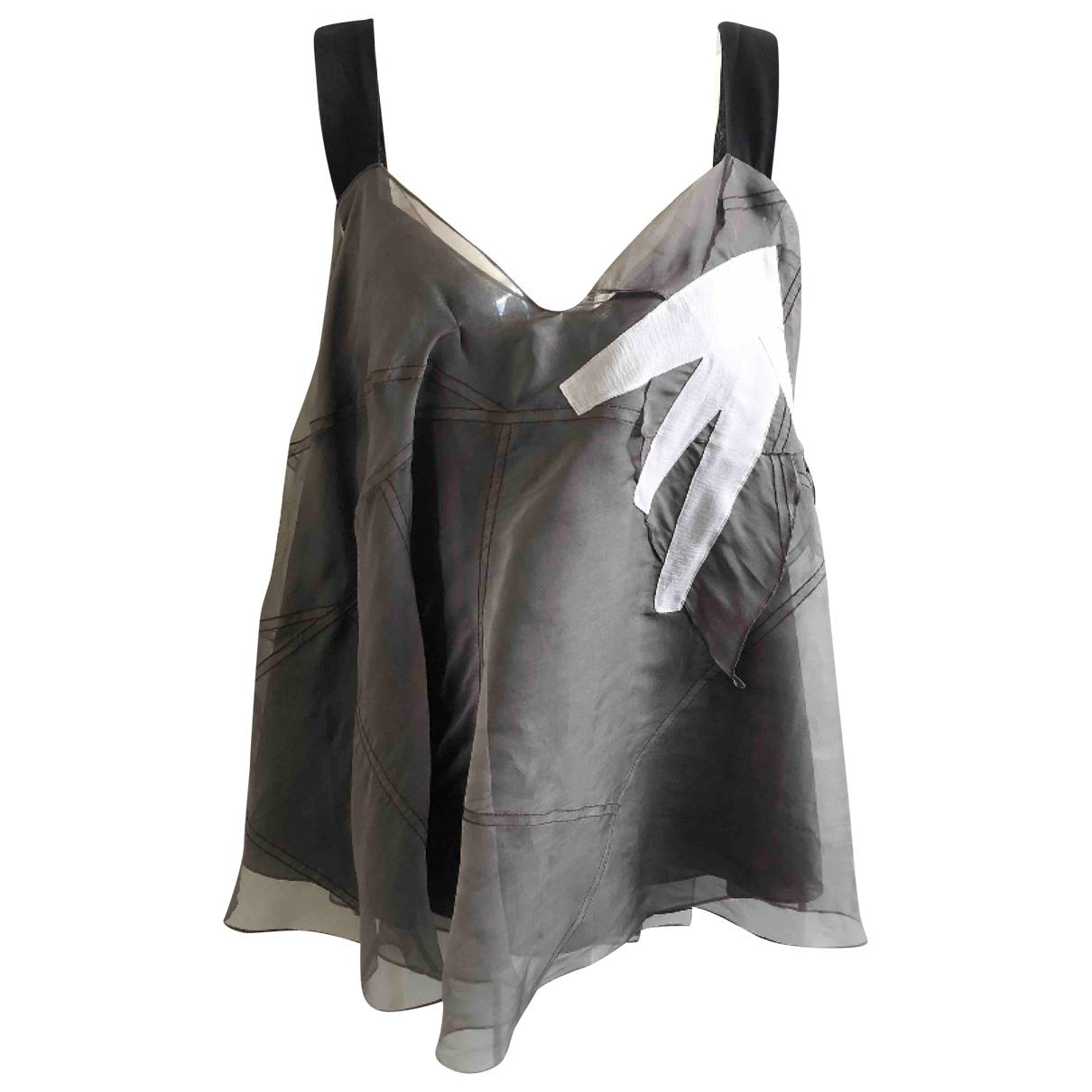 Camiseta sin mangas de Seda Chloe