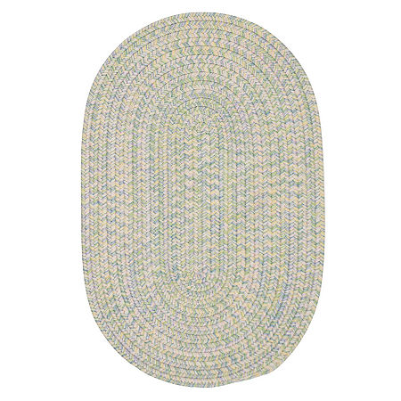 Colonial Mills Maxine Reversible Braided Oval Rug, One Size , Green