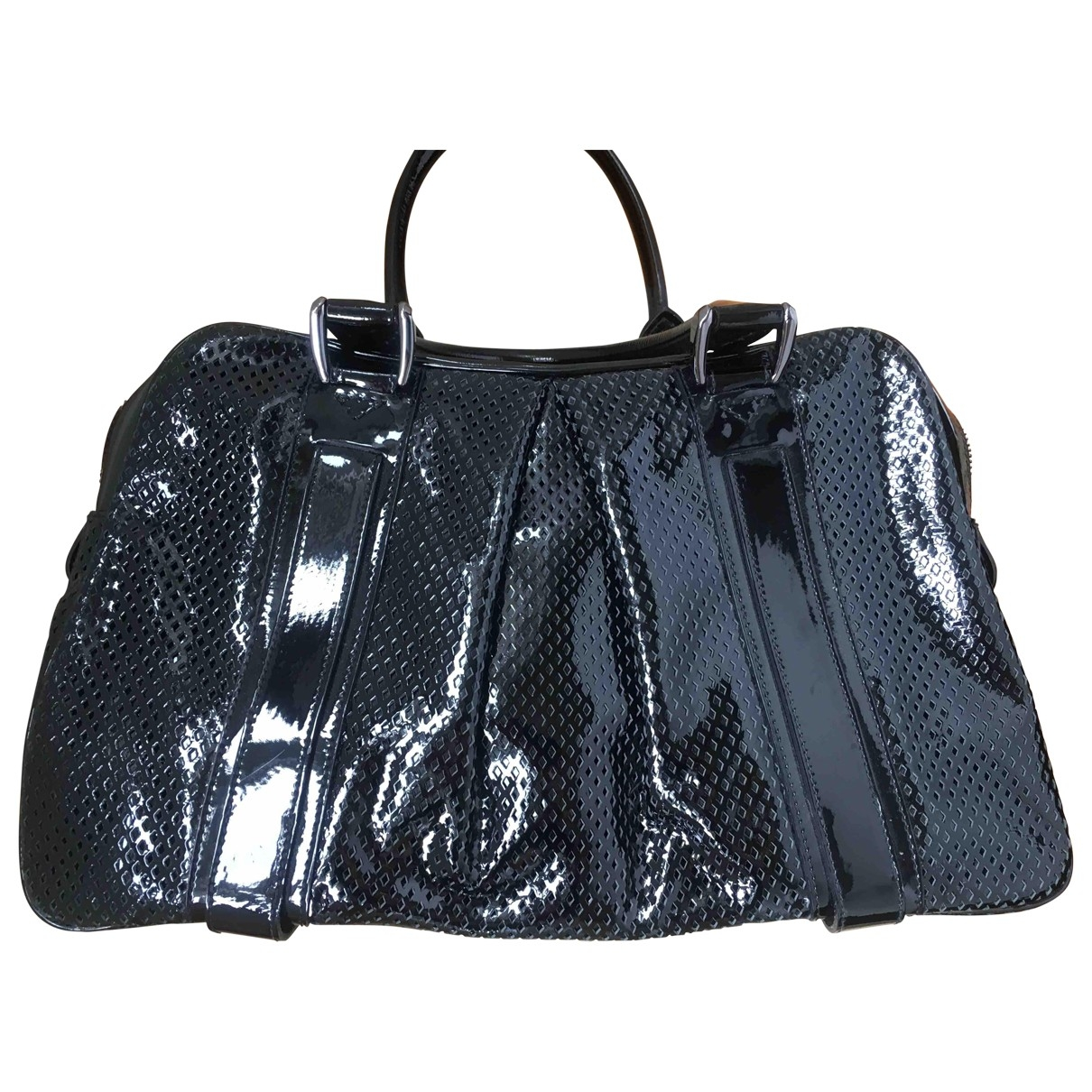 Burberry \N Black Patent leather handbag for Women \N