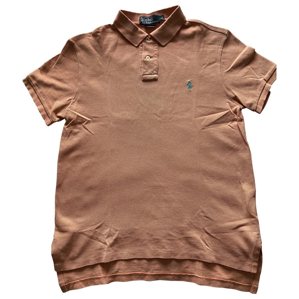 Polo Ralph Lauren \N Orange Cotton Polo shirts for Men S International
