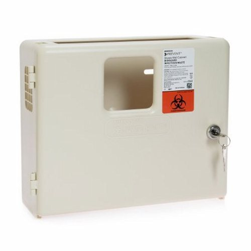 Sharps Collector Wall Cabinet - 1 Each by McKesson