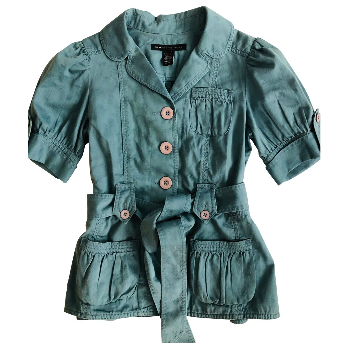 Marc By Marc Jacobs \N Blue Cotton jacket for Women M International