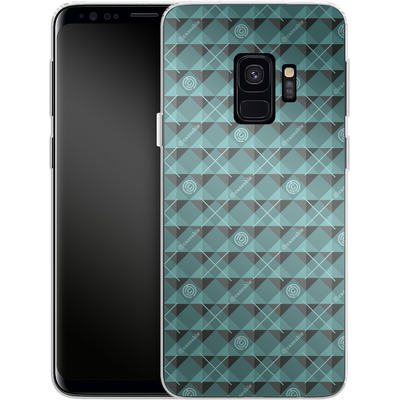 Samsung Galaxy S9 Silikon Handyhuelle - caseable Pattern von caseable Designs