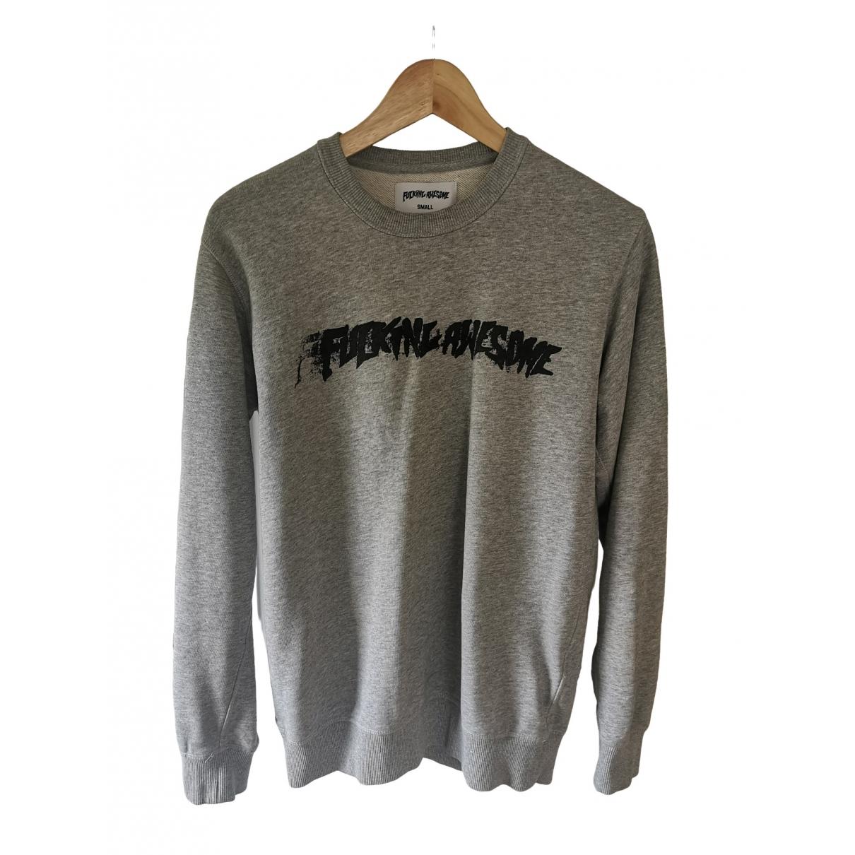 Fucking Awesome \N Grey Cotton Knitwear & Sweatshirts for Men S International