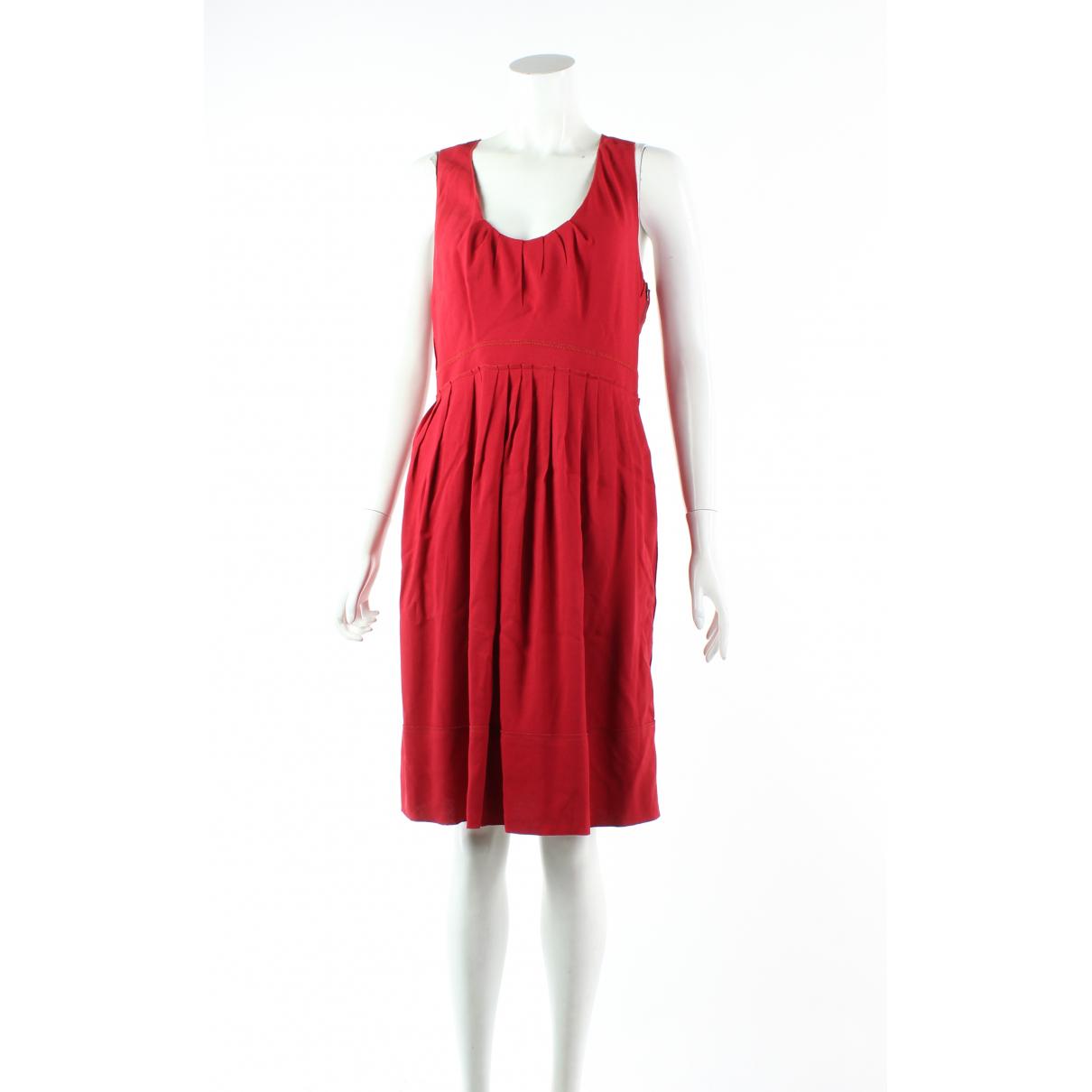 Prada - Robe   pour femme - rouge