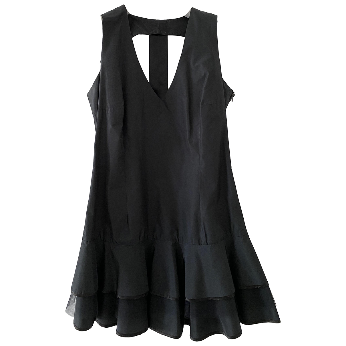 Flavio Castellani - Robe   pour femme en soie - noir