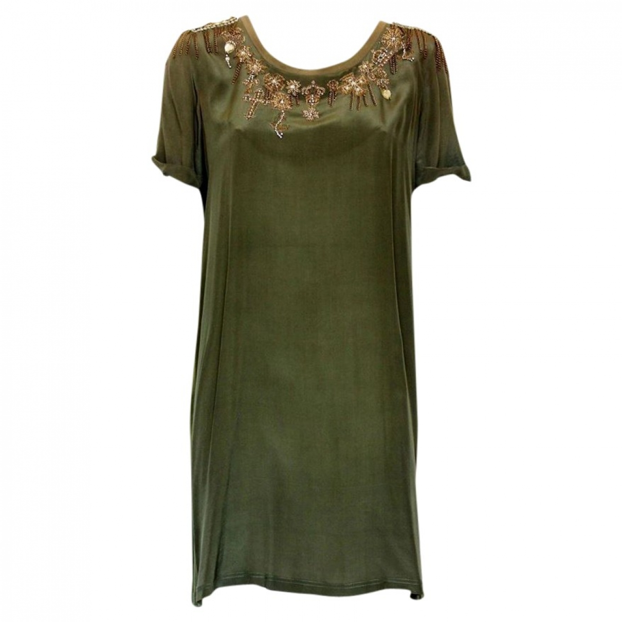 Non Signé / Unsigned \N Khaki dress for Women 42 IT