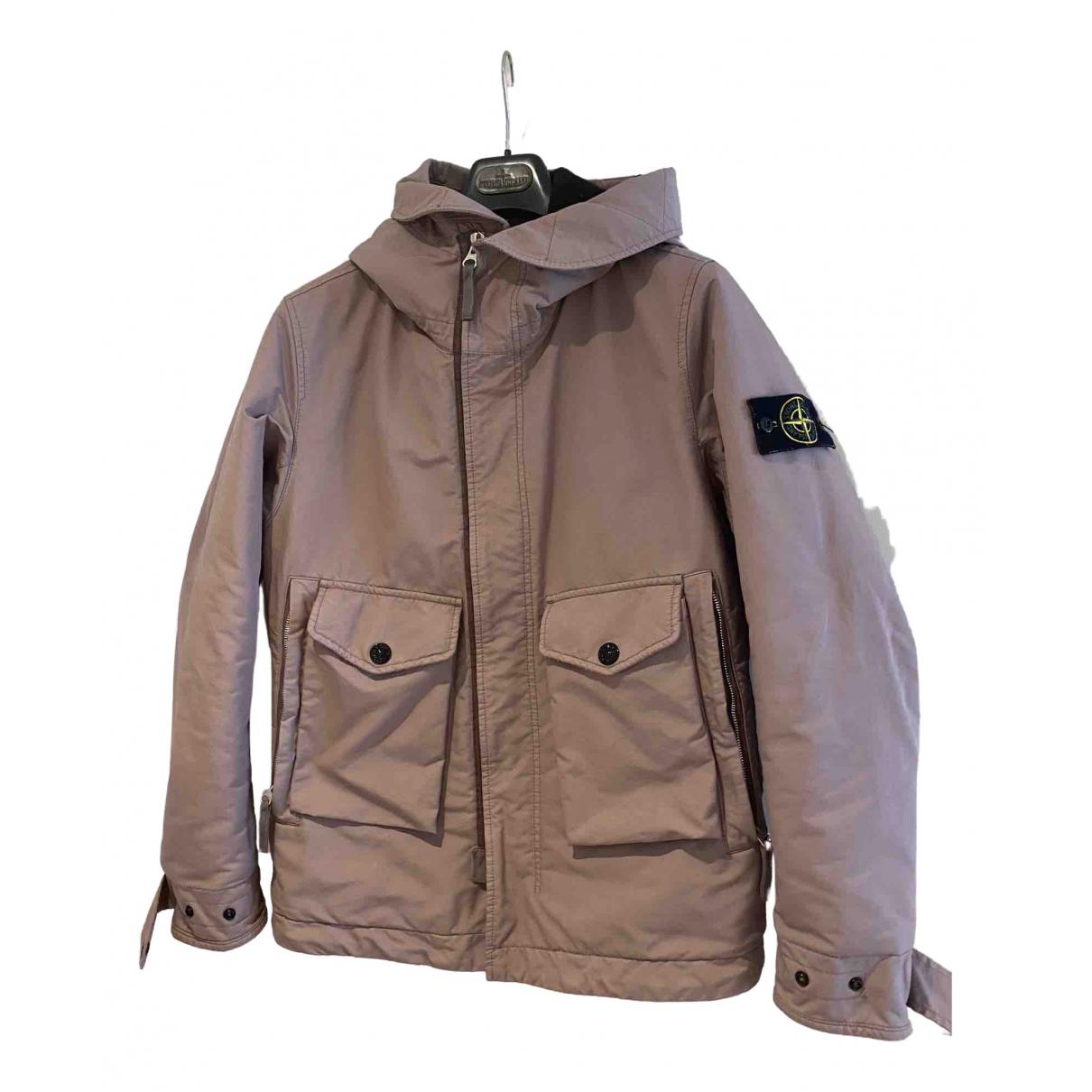 Stone Island - Manteau   pour homme - rose