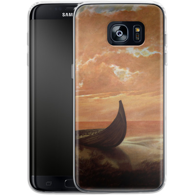 Samsung Galaxy S7 Edge Silikon Handyhuelle - Bill Plank - Sunset Voyager von TATE and CO