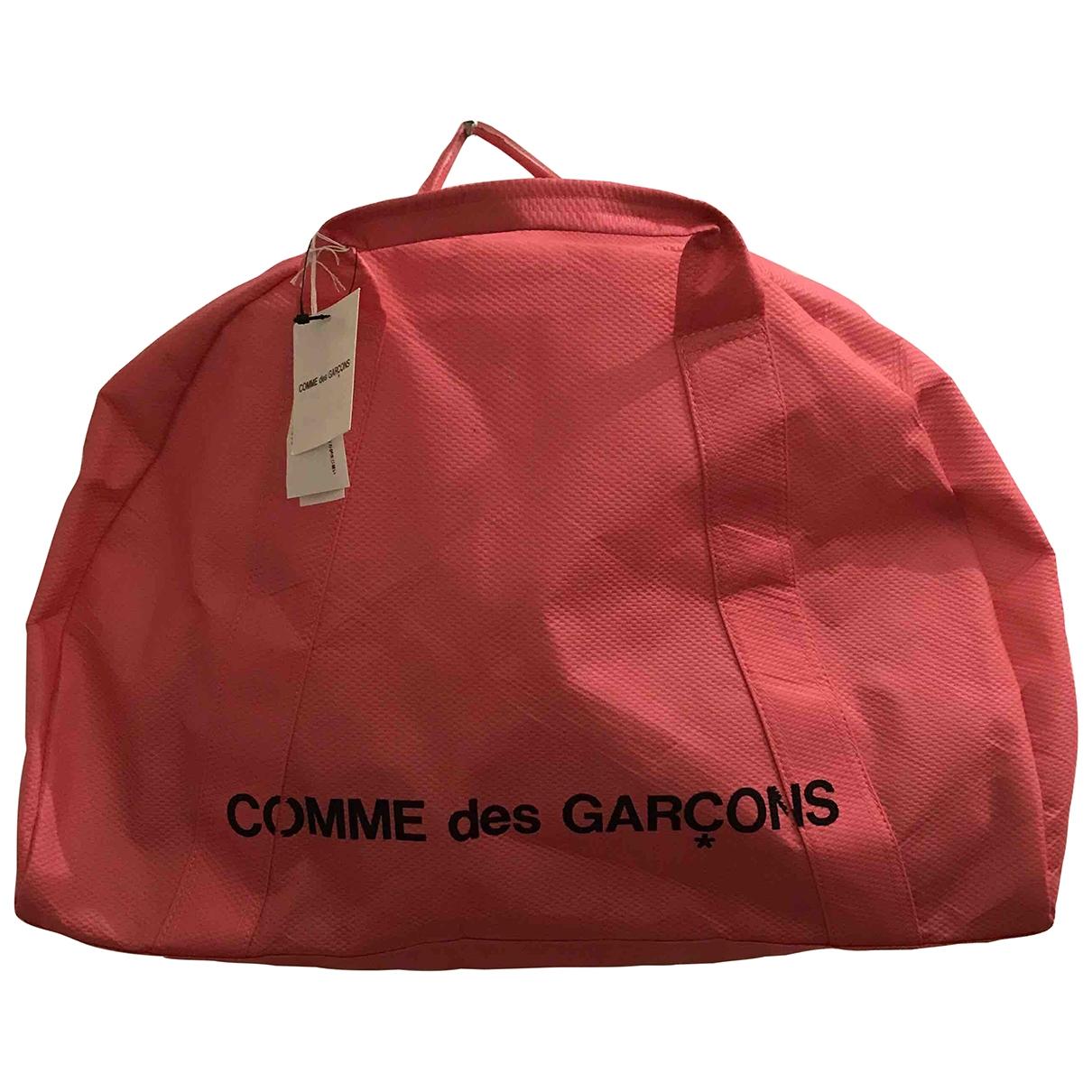 Comme Des Garcons \N Pink Cloth handbag for Women \N