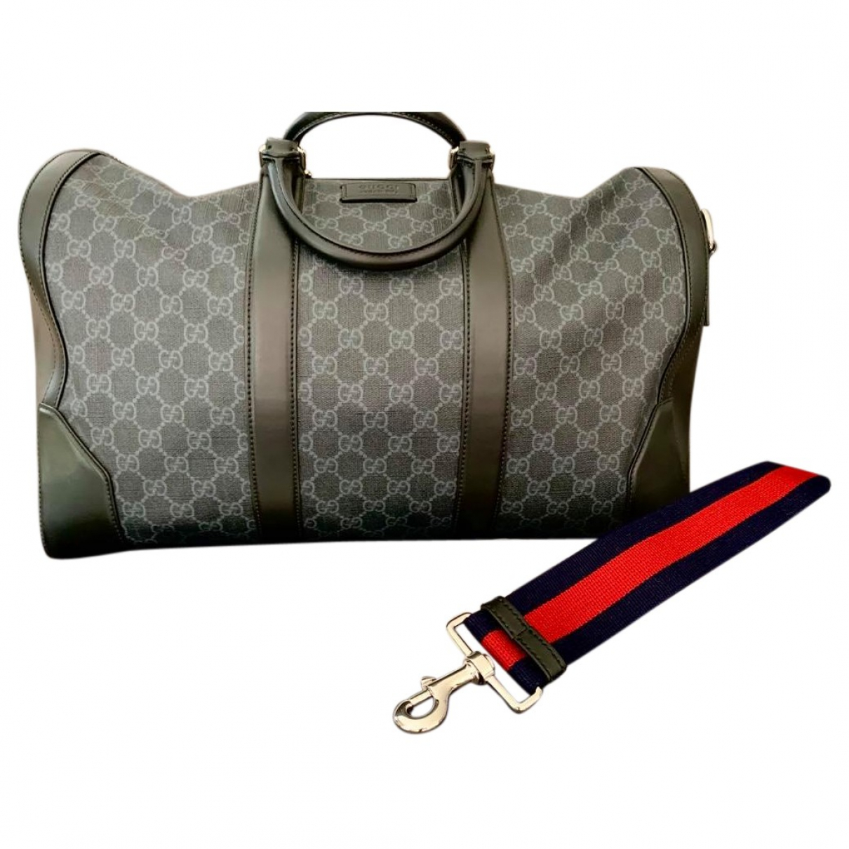 Gucci N Grey Cloth bag for Men N